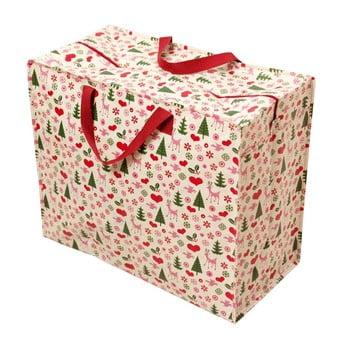 Geantă mare de cumpărături retro Rex London Christmas imagine