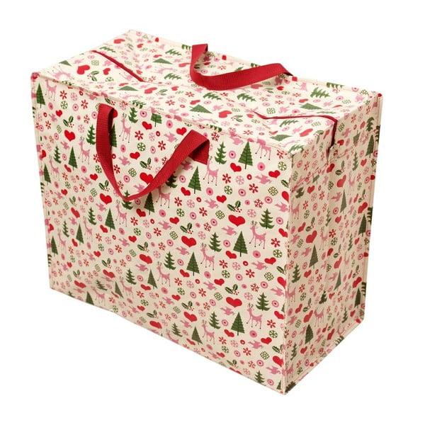 Geantă de cumpărături retro Rex London Christmas
