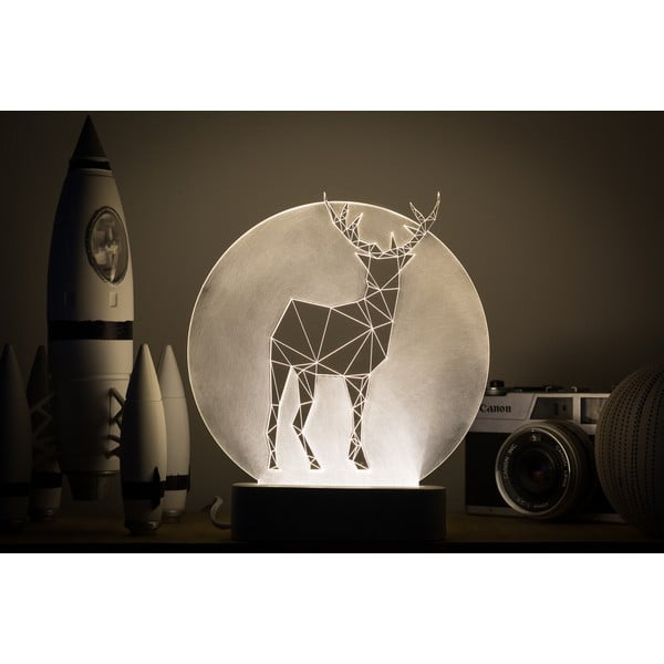 Náladové světlo Deer Full Moon