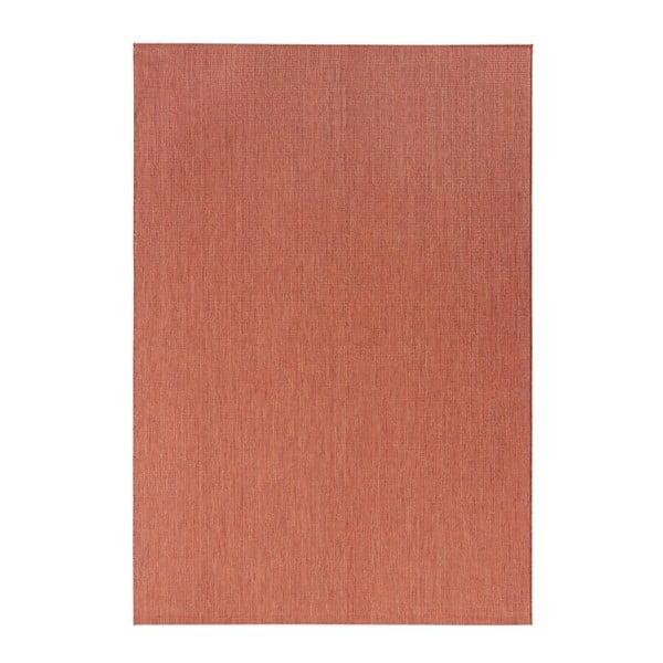 Koberec v terakotové barvě vhodný do exteriéru Bougari Match, 120x170cm