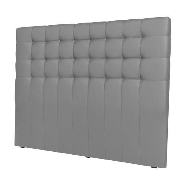 Čelo postele ve stříbrné barvě Windsor & Co Sofas Deimos, 160 x 120 cm