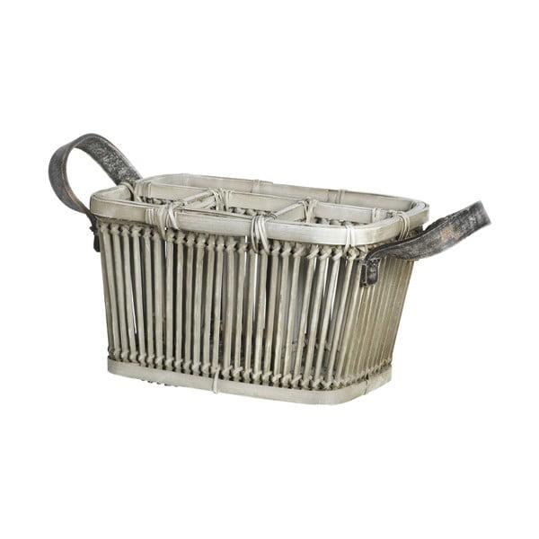 Bambusový košík na příbory