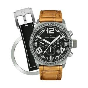 Dámské hodinky Marc Coblen s páskem a kroužkem navíc P72