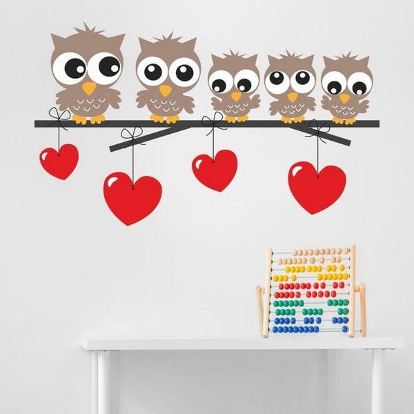 Owl Kids dekoratív falmatrica