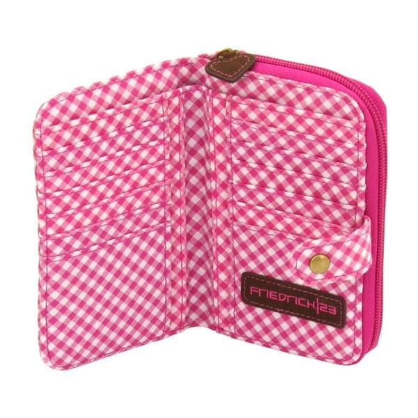 Dámská peněženka Bavaria Fitted Brown/Pink