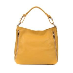 Žlutá kožená kabelka Roberta M Munico