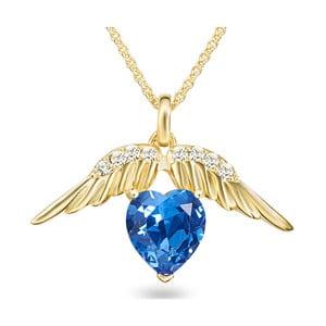Náhrdelník se Swarovski Elements Heart Crystal