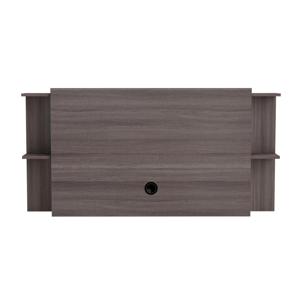 Nástěnný TV stolek v dekoru tmavého dubu Origin
