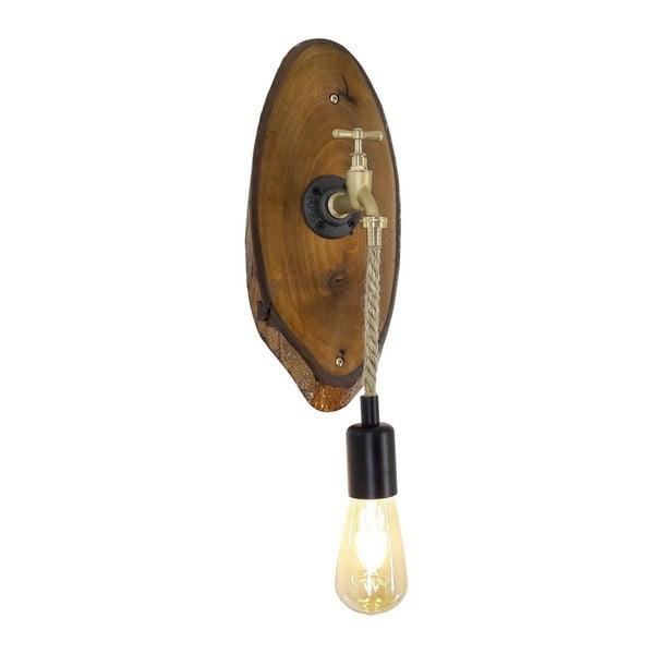 Nástěnné svítidlo z ořechového dřeva Calis