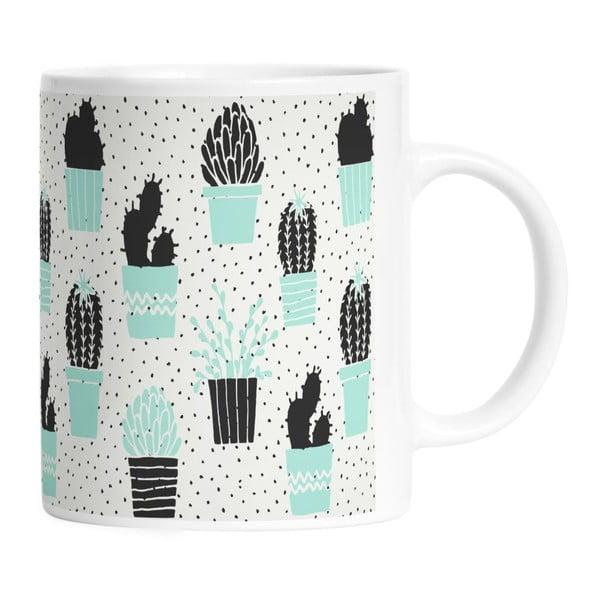 Keramický hrnek Cactus Planting, 330 ml