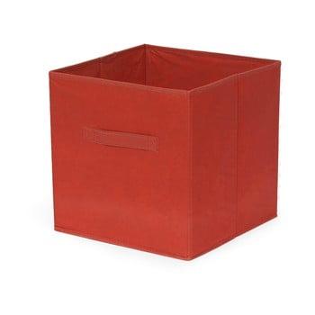 Cutie pliabilă de depozitare Compactor Cardboard Box, roșu