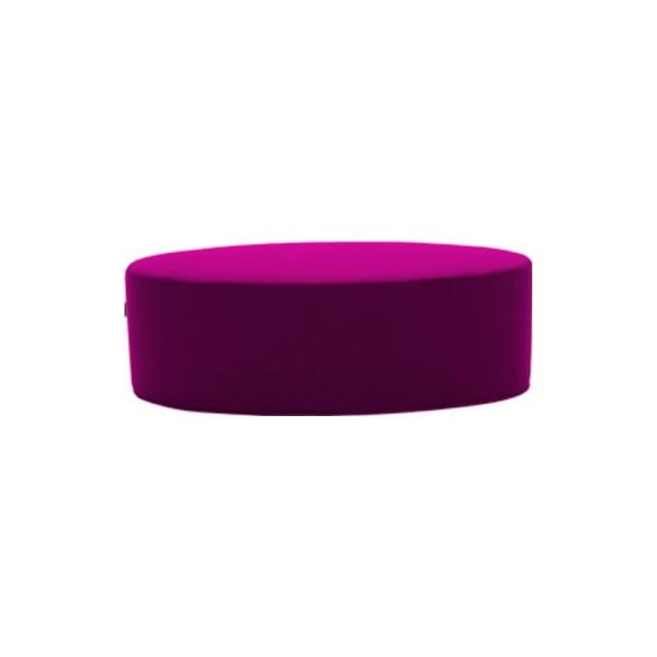 Fialový puf Softline Bon-Bon Felt Violet, délka 60 cm