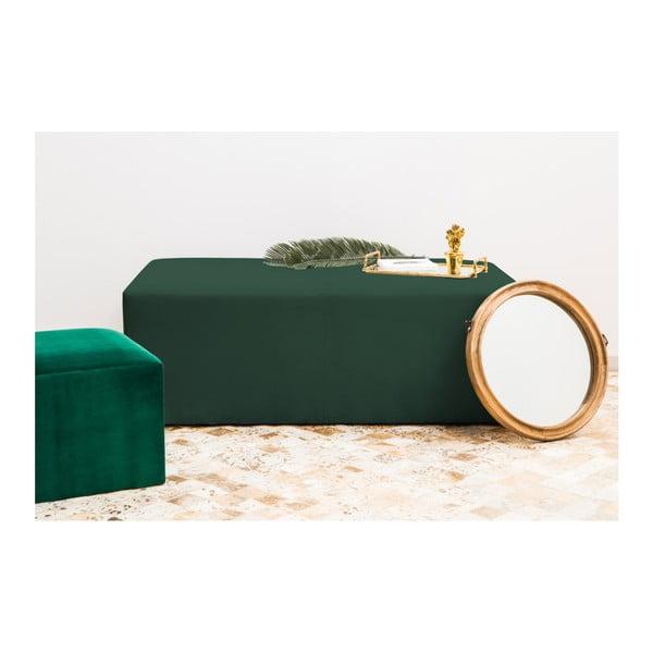 Smaragdově zelený puf Vivonita Grace