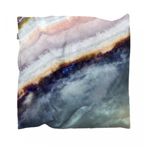 Modrý povlak na polštář Snurk Mineral, 50x50cm