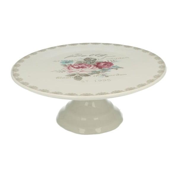 Porcelánový stojan na dort Roses