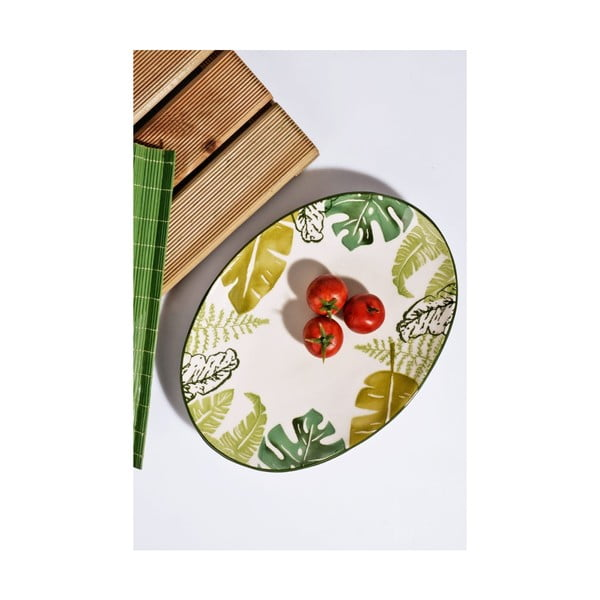 Keramický talíř Joseph, šířka 30cm