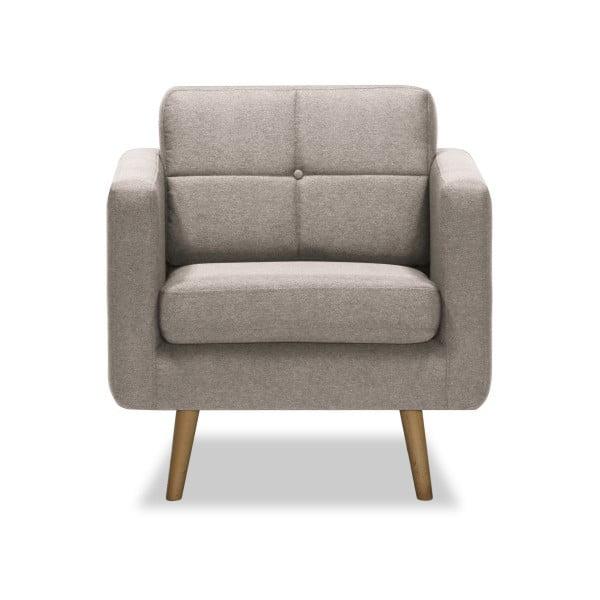 Beżowy fotel Vivonita Magnus