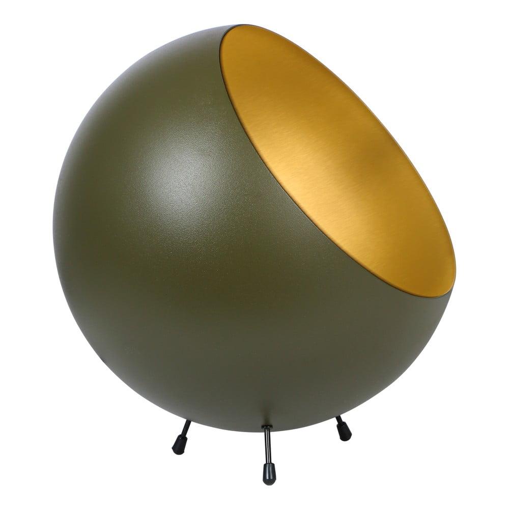 Stolní lampa v matně zelené barvě Leitmotiv Bell