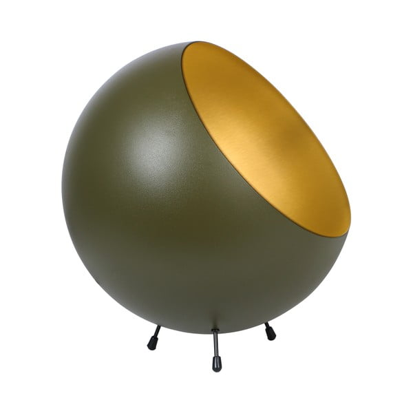 Stolová lampa v matnezelenej farbe Leitmotiv Bell