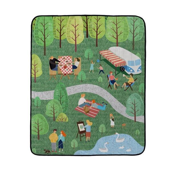 Koc piknikowy Butter Kings Camping Trip, 180x145 cm