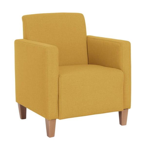 Žluté křeslo Max Winzer Milla Yellow