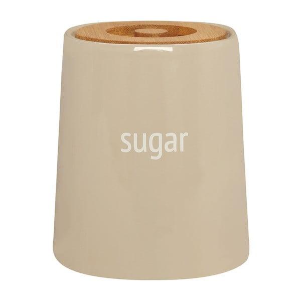 Krémová dóza na cukr s bambusovým víkem Premier Housewares Fletcher, 800 ml