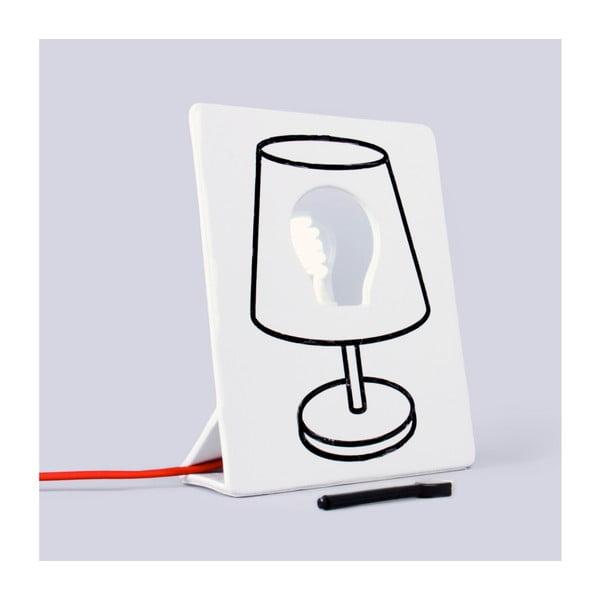 Kreslící lampa