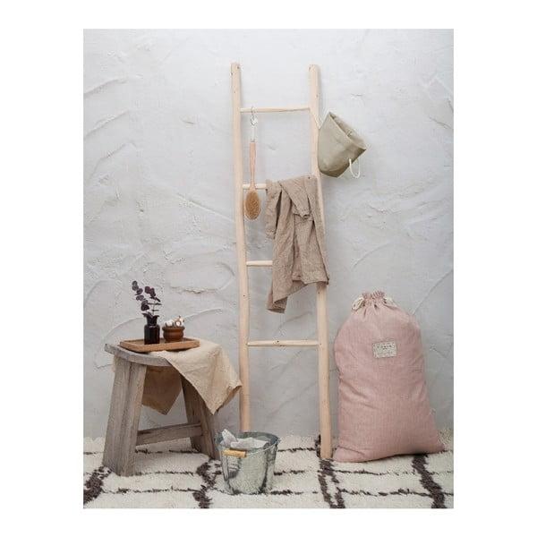 Săculeț textil pentru haine Linen Couture Bag Rose, înălțime 75 cm