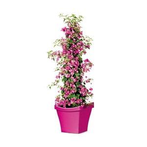 Venkovní květináč Living 40 cm, růžový