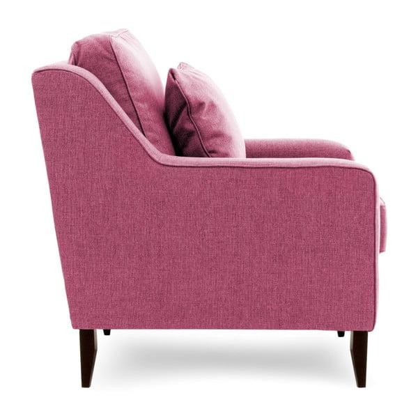 Canapea cu 3 locuri Vivonita Bond, roz