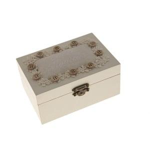 Cutie din lemn pentru cusut Antic Line Buttons