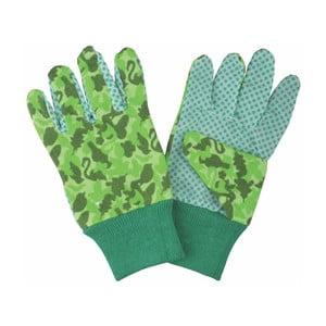 Dětské zelené zahradní rukavice Esschert Design