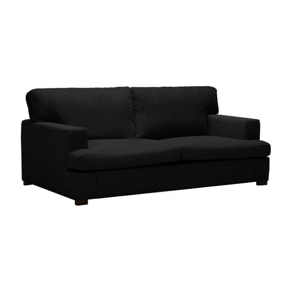 Černá dvoumístná pohovka Windsor & Co Sofas Daphne