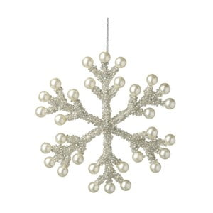 Závěsná dekorace ve stříbrné barvě Parlane Snowflake