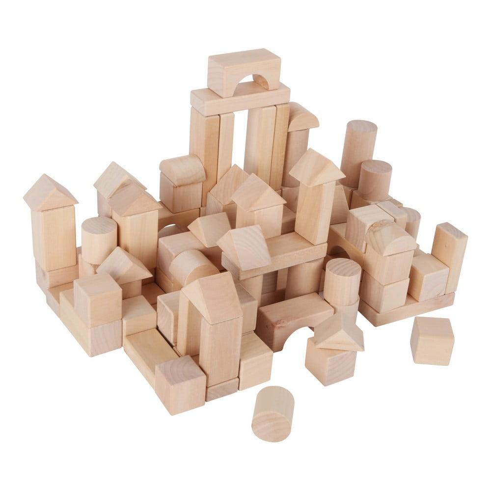 Dřevěná stavebnice Legler Blocks In A Bag