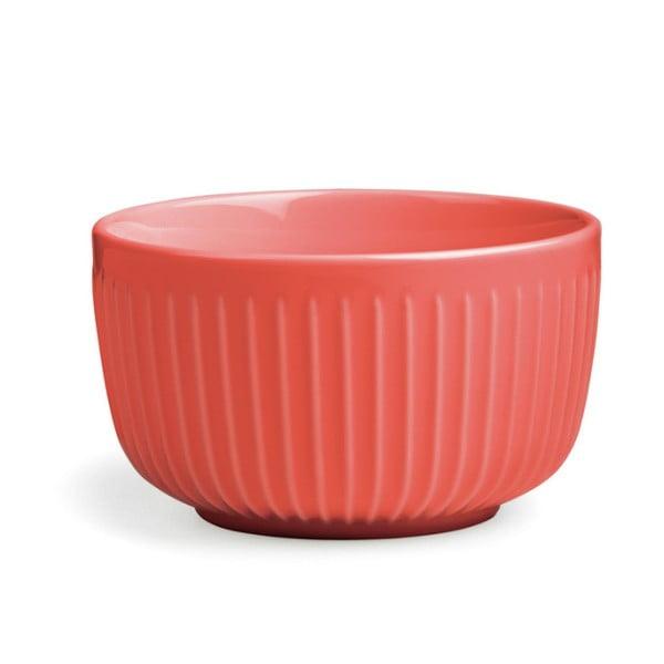 Korálově červená porcelánová miska Kähler Design Hammershoi, ⌀ 12 cm