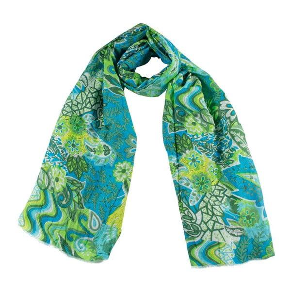 Šátek s příměsí hedvábí Shirin Sehan Marceline Sea