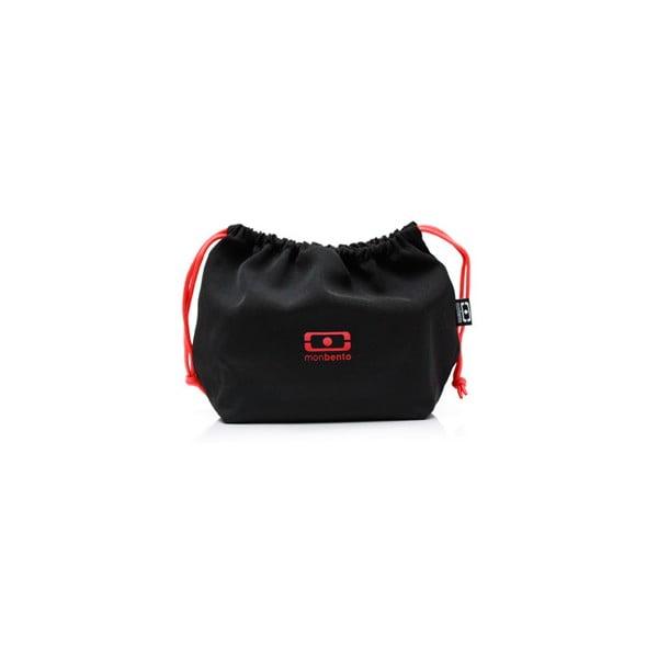 Kapsa na svačinový box Monbento Black/Red