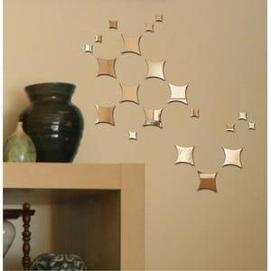 Dekorativní zrcadlo Flying Squares