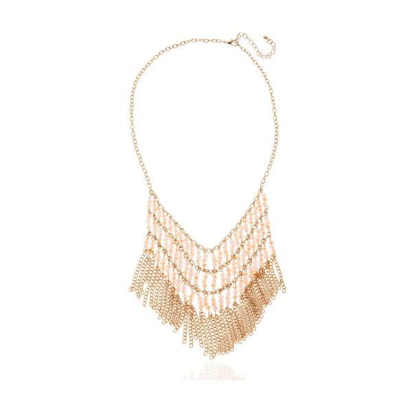 Dámský náhrdelník ve zlaté barvě NOMA Aileen