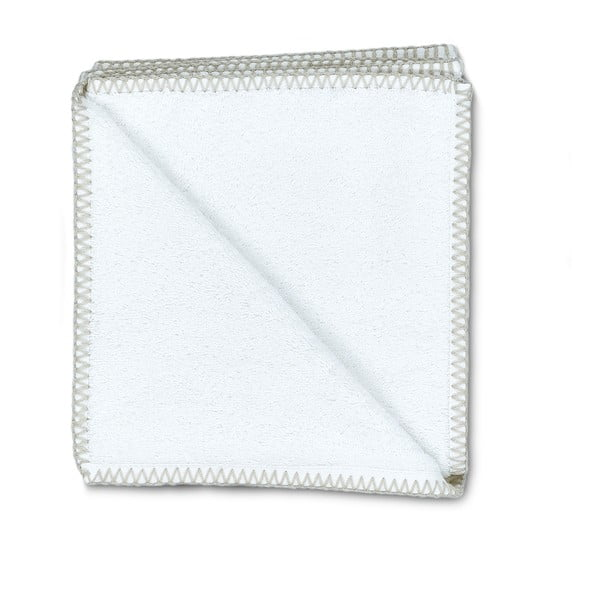 Sada 2 ručníků Whyte 50x90 cm, bílá/béžová