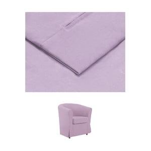 Světle fialový povlak na křeslo THE CLASSIC LIVING Casper
