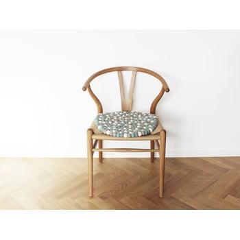 Pernă pentru scaun, cu bile din lână Wooldot Ball Chair Pad, ⌀ 39 cm, albastru deschis imagine