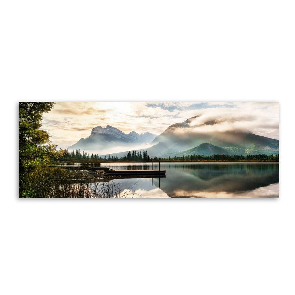 Produktové foto Obraz na plátně Styler Lake, 150 x 60 cm