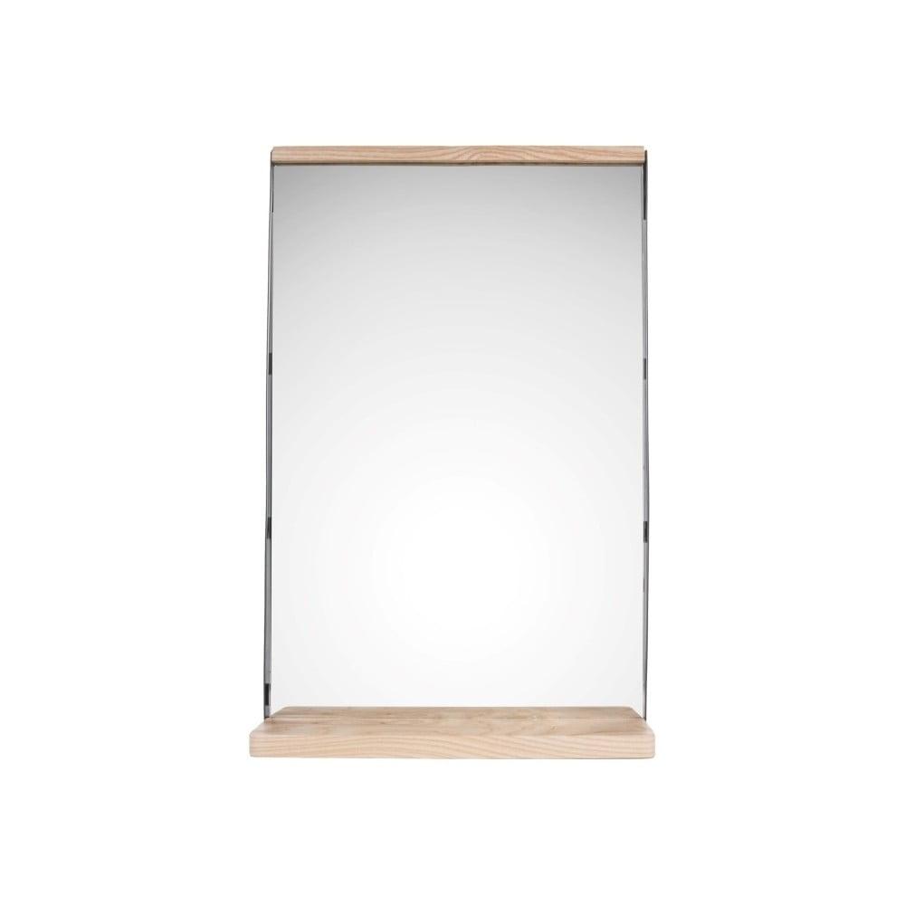 Nástěnné zrcadlo s dřevěným rámem PT LIVING Simplicity