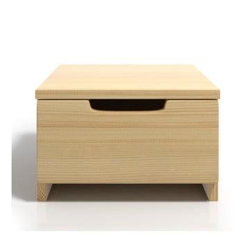 Noptieră din lemn de pin cu sertar SKANDICA Spectrum imagine