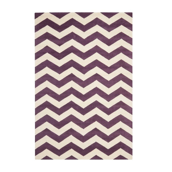 Vlněný koberec Crosby Red, 152x243 cm