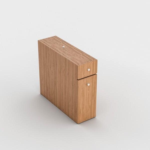 Drevený toaletný stolík Calencia
