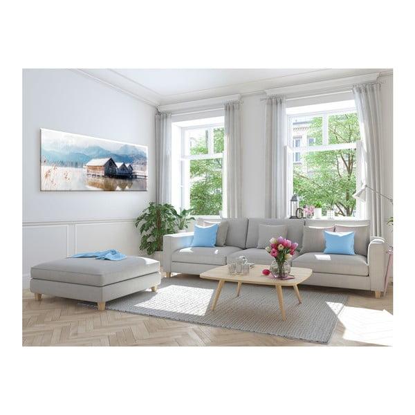 Obraz Styler Glasspik Pastel Lake, 50 x 125 cm