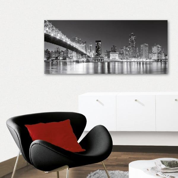 Dekorativní nástěnný panel Velkoměsto, 115x50 cm